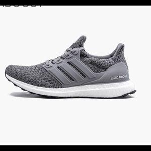 Adidas ultraboost size 6 gray